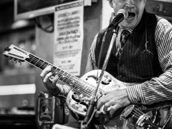 Hobgoblin Shibuya Rambling Steve Gardner Solo Live Sunday February 7, 2016