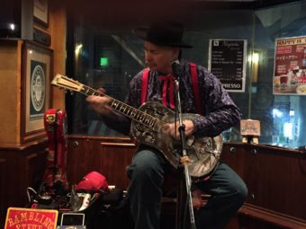 Hobgoblin Shibuya SUNDAY APRIL 2, 2017 Rambling Steve Gardner