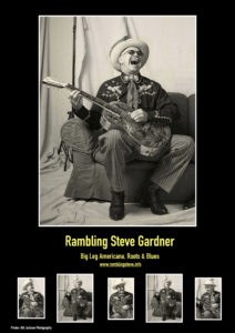 RAMBLING STEVE GARDNER Big Leg Roots & Blues