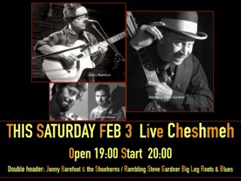 FEB 3, 2017 SATURDAY LIVE Cheshmeh ,Sasazuka open 7:30PM