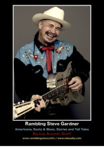 Rambling Steve Gardner-new promo photo 2018