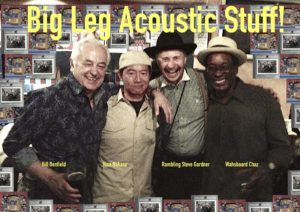 Washboard Chaz, rambling Steve Gardner, Hisa Nakase, Bill Benfield
