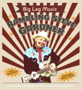 Rambling Steve Gardner Americana, roots & Blues