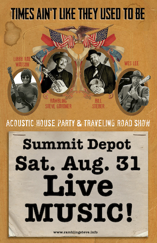 AUG 31 SUMMIT DEPOT, Summit, MS LIVE