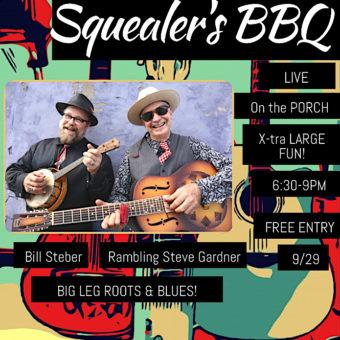 SQUEALER'S BBQ Thursday Aug. 29