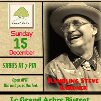 Le GRAND ARBRE Bistrot & Restaurant  SUNDAY DEC. 15, 2019
