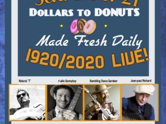 "Cheshmeh ""DOLLARS to DONUTS""  Sat. 12/21/2019"
