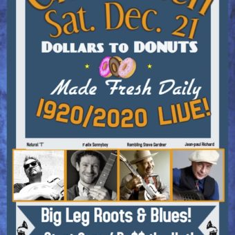 "Cheshmeh ""DOLLARS to DONUTS""  Sat. 12/21/2019"